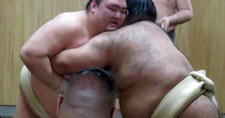 20170213 稀勢の里三番稽古 日刊