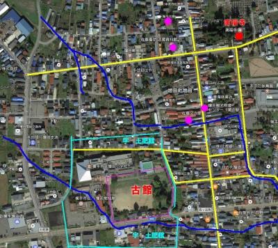増田町土肥館写真地図