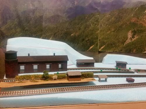 鉄道模型 モジュール設計 駅1