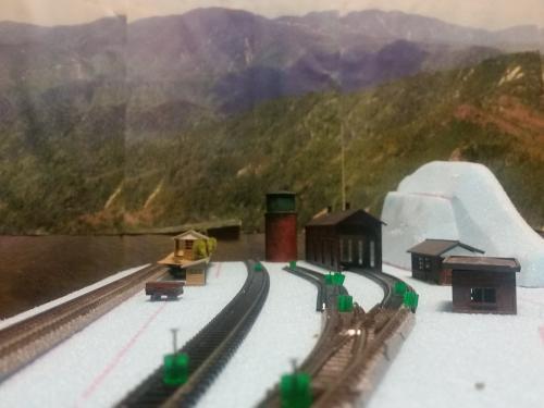 鉄道模型 モジュール設計 駅2