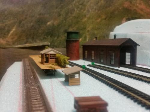 鉄道模型 モジュール設計 駅3