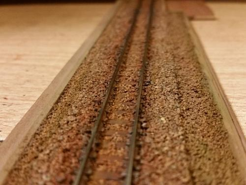 鉄道模型 線路バラスト