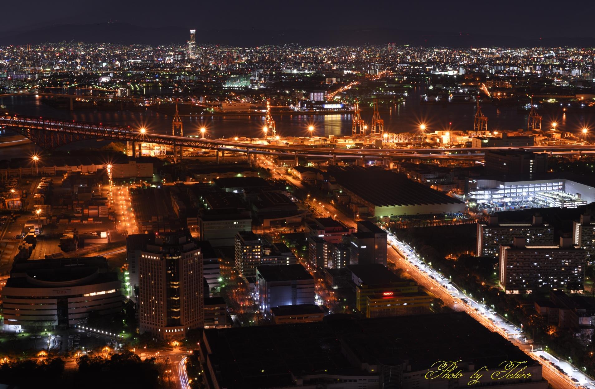 阪神高速湾岸大阪市内-神戸線分岐大橋