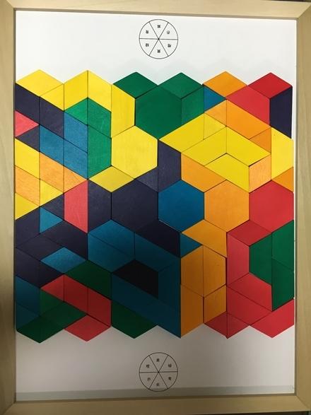 色彩組色パズル