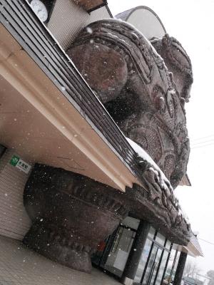 五能線 木造駅