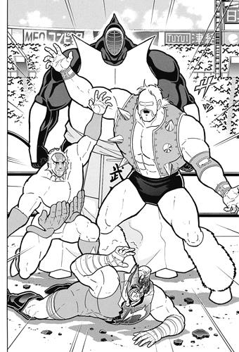 武道を守る完璧超人チーム