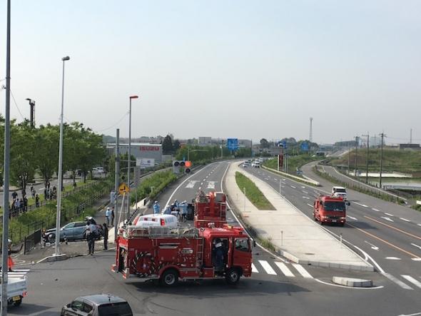 国道4号線 事故現場