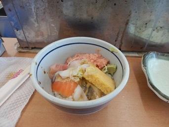 12/30 ミニ海鮮丼   漁師料理かなや