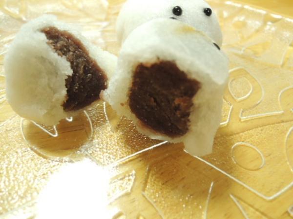 千鳥屋宗家の干支(えと)薯蕷饅頭 (1)