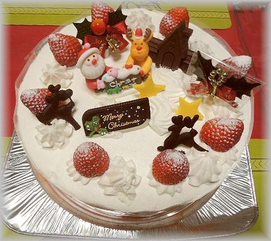 ケンテル 201612 クリスマスケーキ (2)