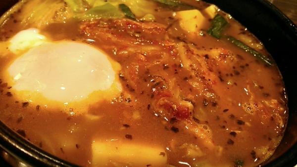 スープで食べるチゲ風カレー CoCo壱番屋 北区西天満四丁目店 201702 (5)
