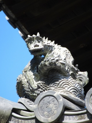 東大寺戒壇堂の龍