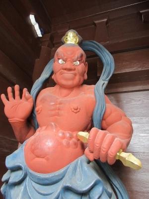 高徳院・金剛力士像(吽形)
