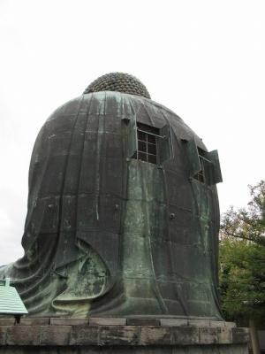 高徳院・大仏像背面