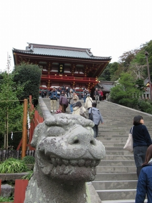 鶴岡八幡宮の狛犬