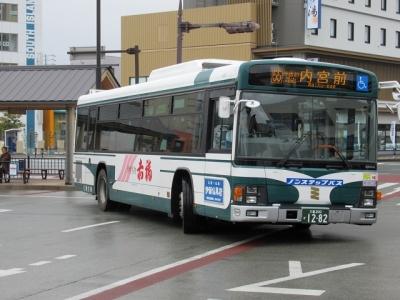 内宮前行きの三重交通バス