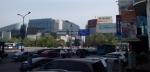 0419済南ホテル前からの景色