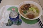 0420済南駅での食事