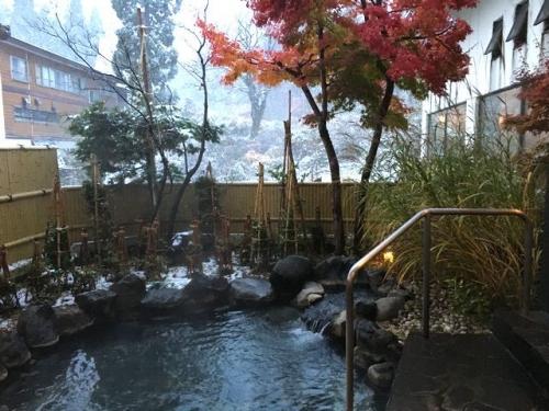 2016-11-09雪の露天風呂