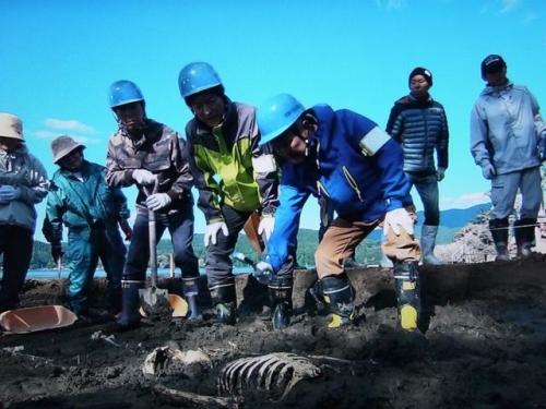 野尻湖発掘調査