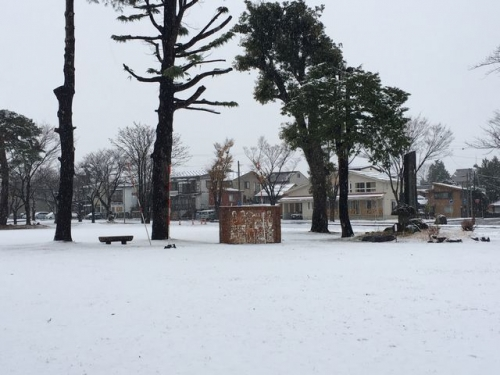 2016-12-11初積雪