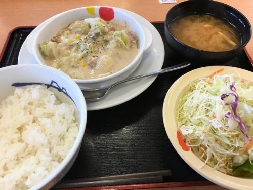 2016-12-12クリームシチュー定食