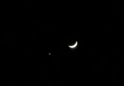 2017-01-02月と金星拡大