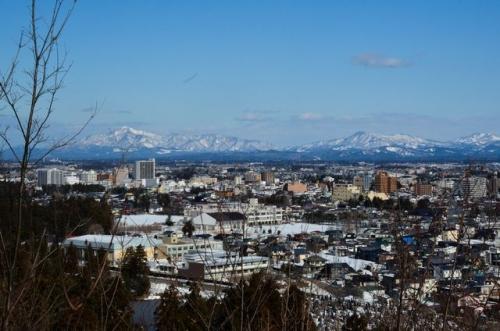 金谷山からの眺め