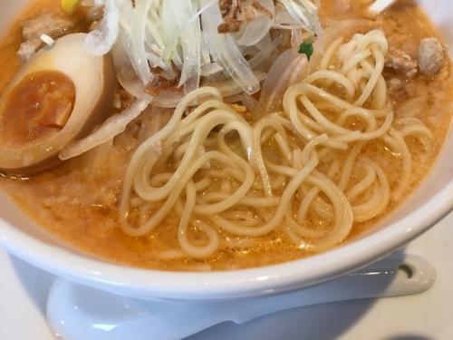 2017-01-29海老そばの麺