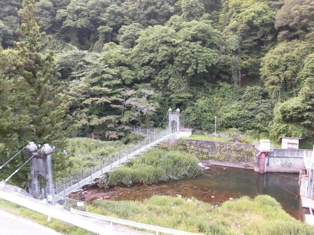 丸畑渓谷の吊橋 (8)