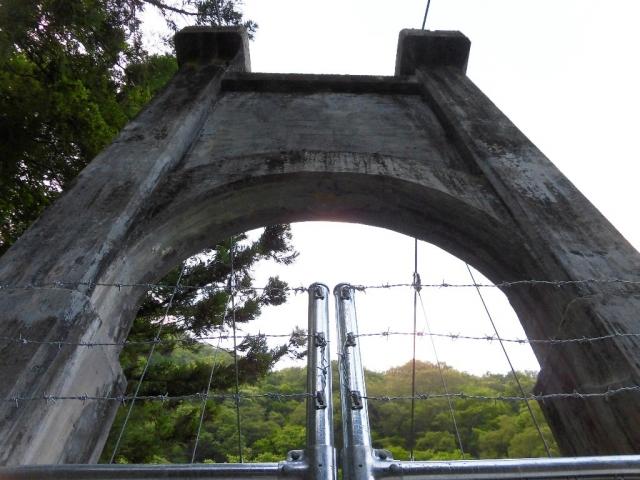 丸畑渓谷の吊橋 (10)