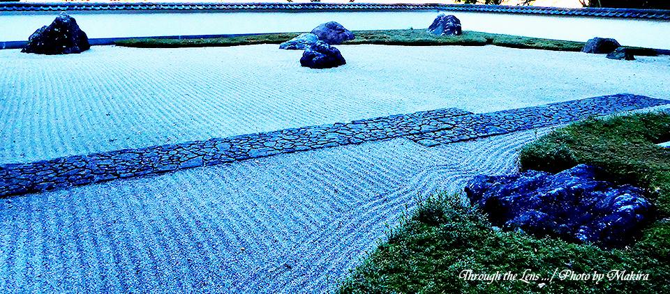 枯山水庭園TZ1