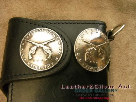 コインコンチョの型取り(鋳造)05