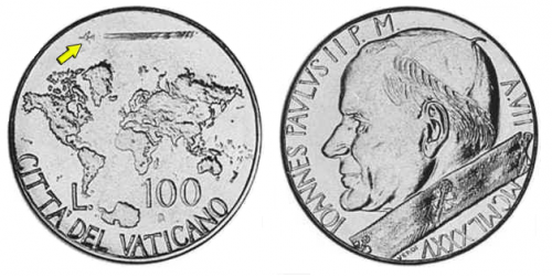 バチカン コイン