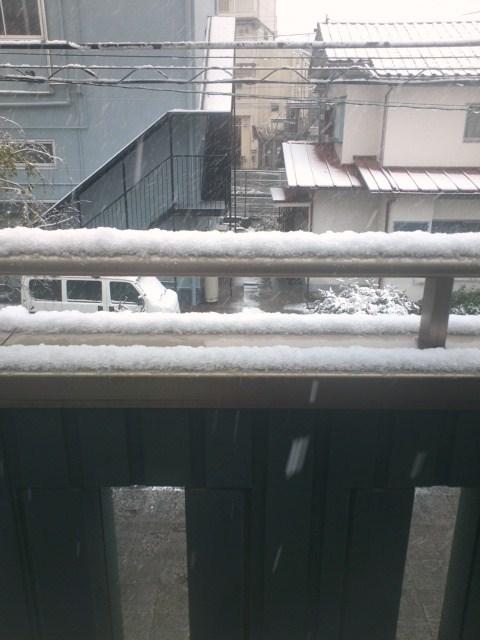 54年ぶりの11月初雪