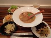 大門 ぶらん ランチビュッフェ+味噌しら麺(2017/2/6)