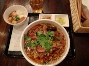 大門 郷村居 郷村牛肉麺(2017/2/3)