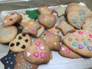 クッキー。さくら。