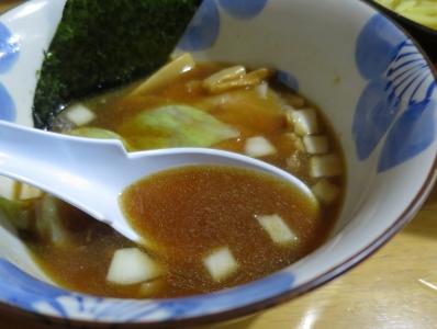 麺治つけ汁