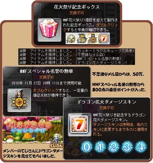 花火祭り記念ボックス