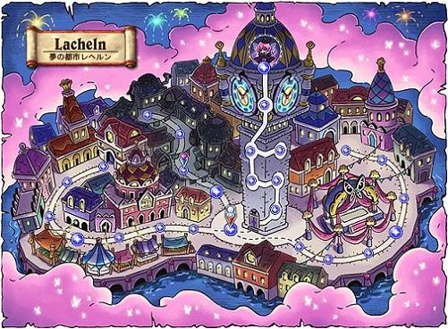 夢の都市レヘルン地図