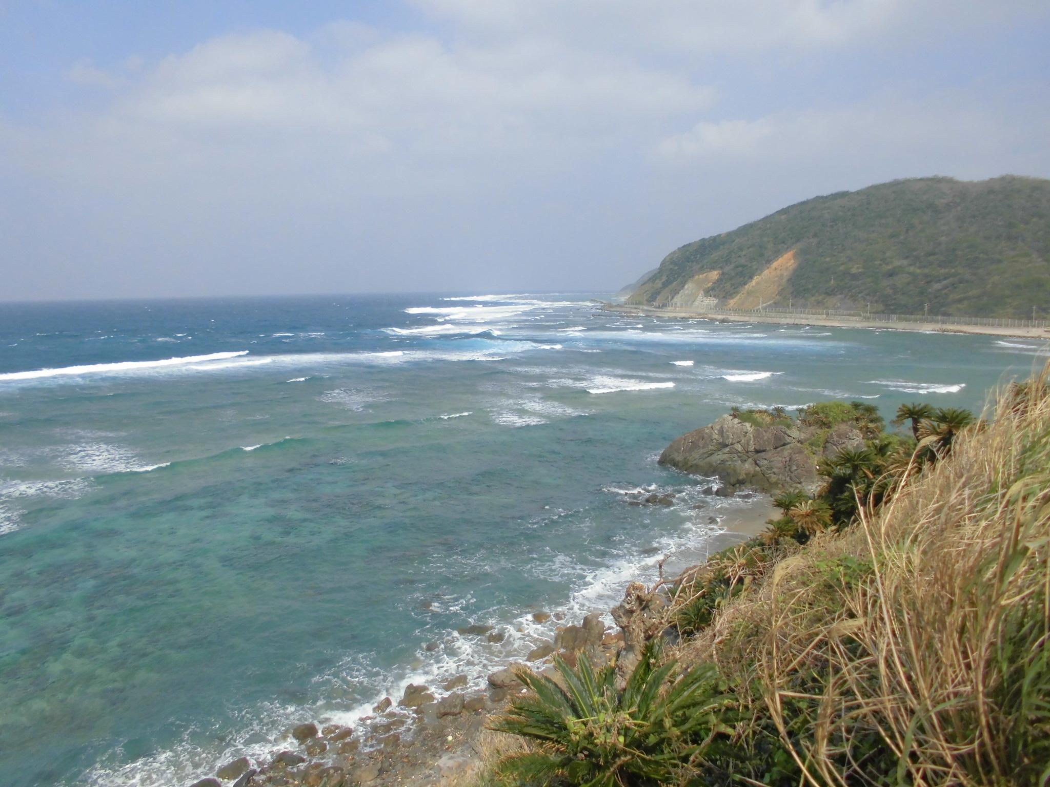 笠利町の海