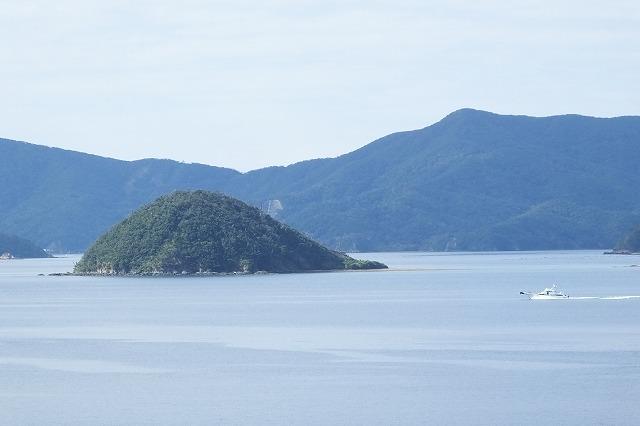 大島海峡の表小島