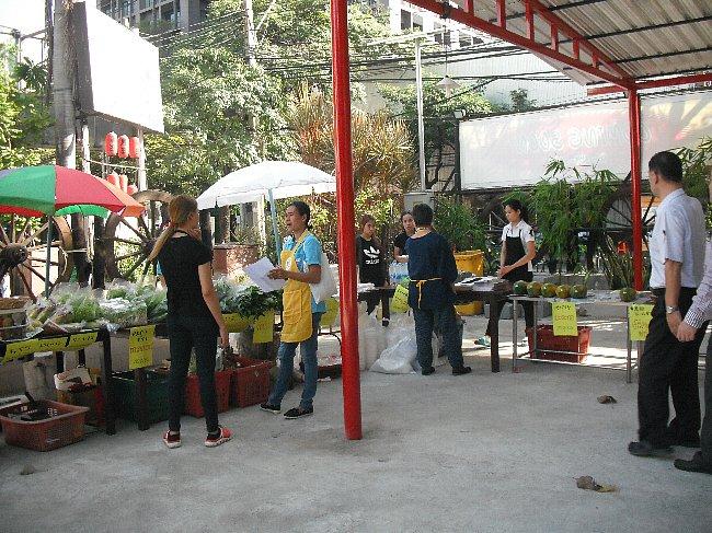 organic market at kuroda