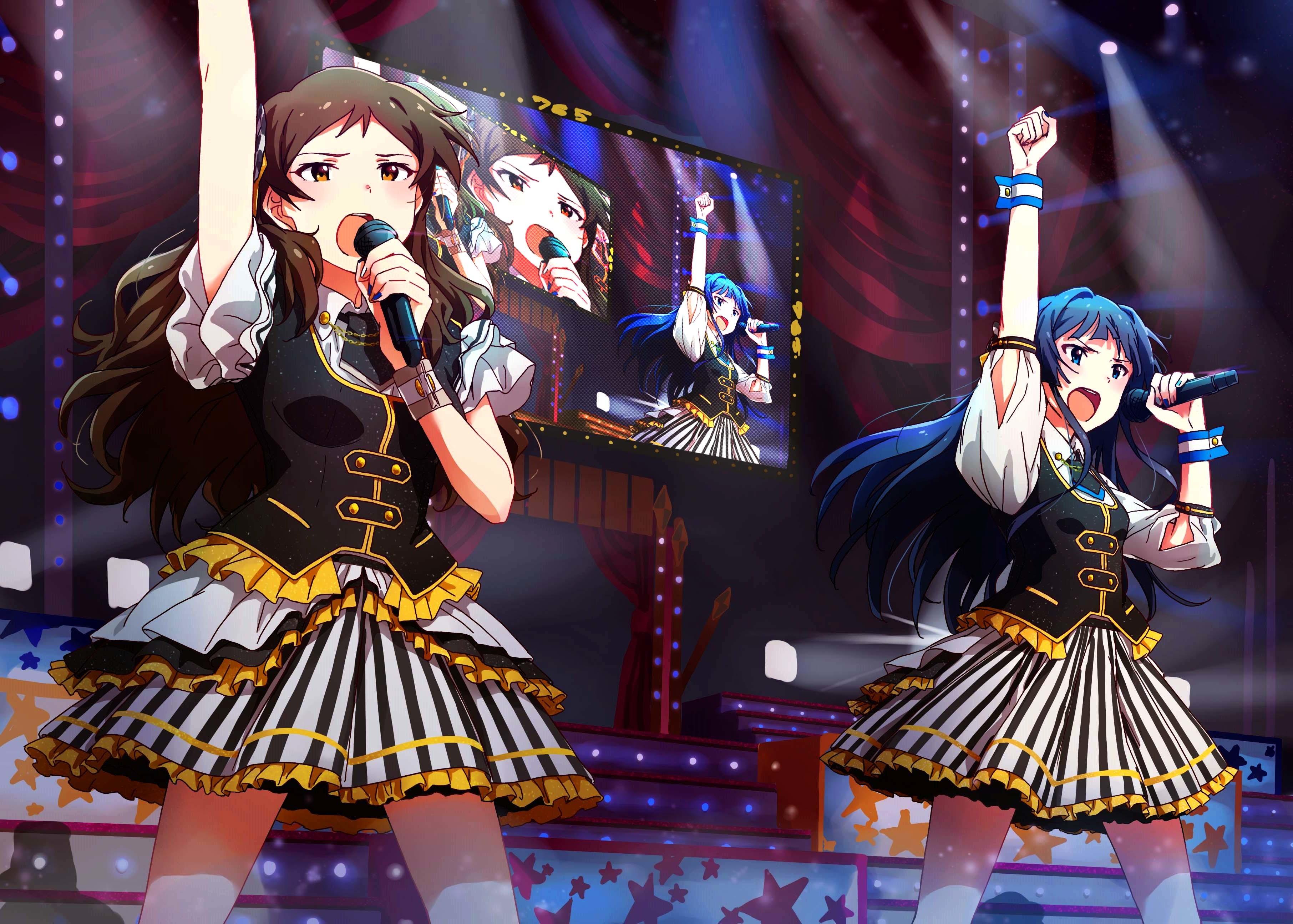 アイドルマスターミリオンライブ! 最上静香 北沢志保 / THE IDOLM@STER Mogami Shizuka Kitazawa Shiho #2349