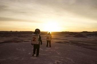 地球で「火星」