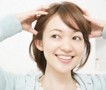 健康的な頭皮