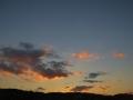 青葉山の夕景