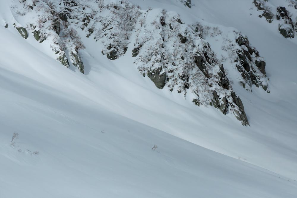 雪のカール