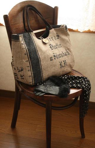 キットで作ったバッグ